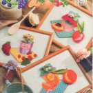 Annie's Attic 87F76 Plastic Canvas Pattern Pretty Preserves Kitchen Decor