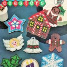 Annie's Attic 87H80 Plastic Canvas Pattern Holiday Coasters