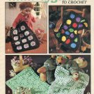 Leisure Arts 2389 Mini Afghans to Crochet for Dolls Bears