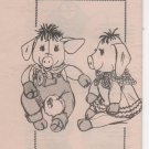 Mail Order Pigs Piglets Vintage Sewing Pattern 5139
