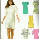 New Look 0167 Easy A-line dress with collar and sleeve variations Size 8-18