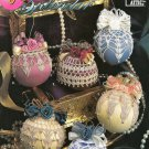 Crochet Satin Ball Splendor Annie Attic 87S81 Christmas Tree Ball Cover Thread Crochet patterns