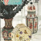Vintage Vases in Plastic Canvas Pattern by Annie's Attic 87V75 flower arrangement containers