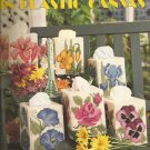 Floral Tissue Covers Plastic Canvas Pattern Leisure Arts 1214