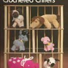 Crocheted Critters Donkey Elephant Lamb Pig Horse Siamese Kitten Leisure Arts pattern  109