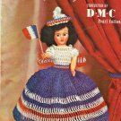 Vintage Doll Pattern 1952 DMC Dolls of Many Nations Volume 403 Crochet Clothes