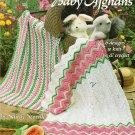 A Garden of Baby Afghans  American School of Needlework 1114 Knit Crochet Pattern