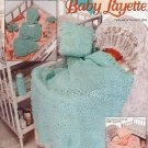 The Needlecraft Shop 931806 Sweetheart Baby Boy or Girl Layette Designed by Frances Hughes.