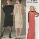 VOGUE 1389 American Designer GEOFFREY BEENE Dress Caftan Sewing Pattern Size 14