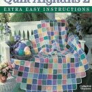 Leisure Arts 2330 Quilt Afghans 2 Crochet Quilt Pattern Afghan Patterns by Mary Ann Snipes