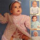 Leisure Arts 2780 Baby Knits Knitting Pattern  C. Strohmeyer