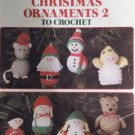 Leisure Arts 772 Christmas Ornaments 2 to Crochet Designed by Anne Halliday