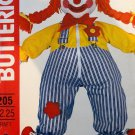 Butterick 205 Learning Doll Clown Sewing Pattern