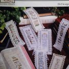 Cross stitch pattern Bookmarks from the Psalms Designs by Terrie Lee Steinmeyer