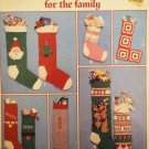 Leisure Arts 301 Christmas Stockings for the family knit or crochet pattern