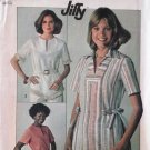 Simplicity 7894 Misses Jiffy pullover Top blouse vintage pattern size 16