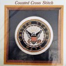 United States Navy Emblem Cross Stitch Kit