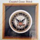 United States Navy Emblem Cross Stitch Kit