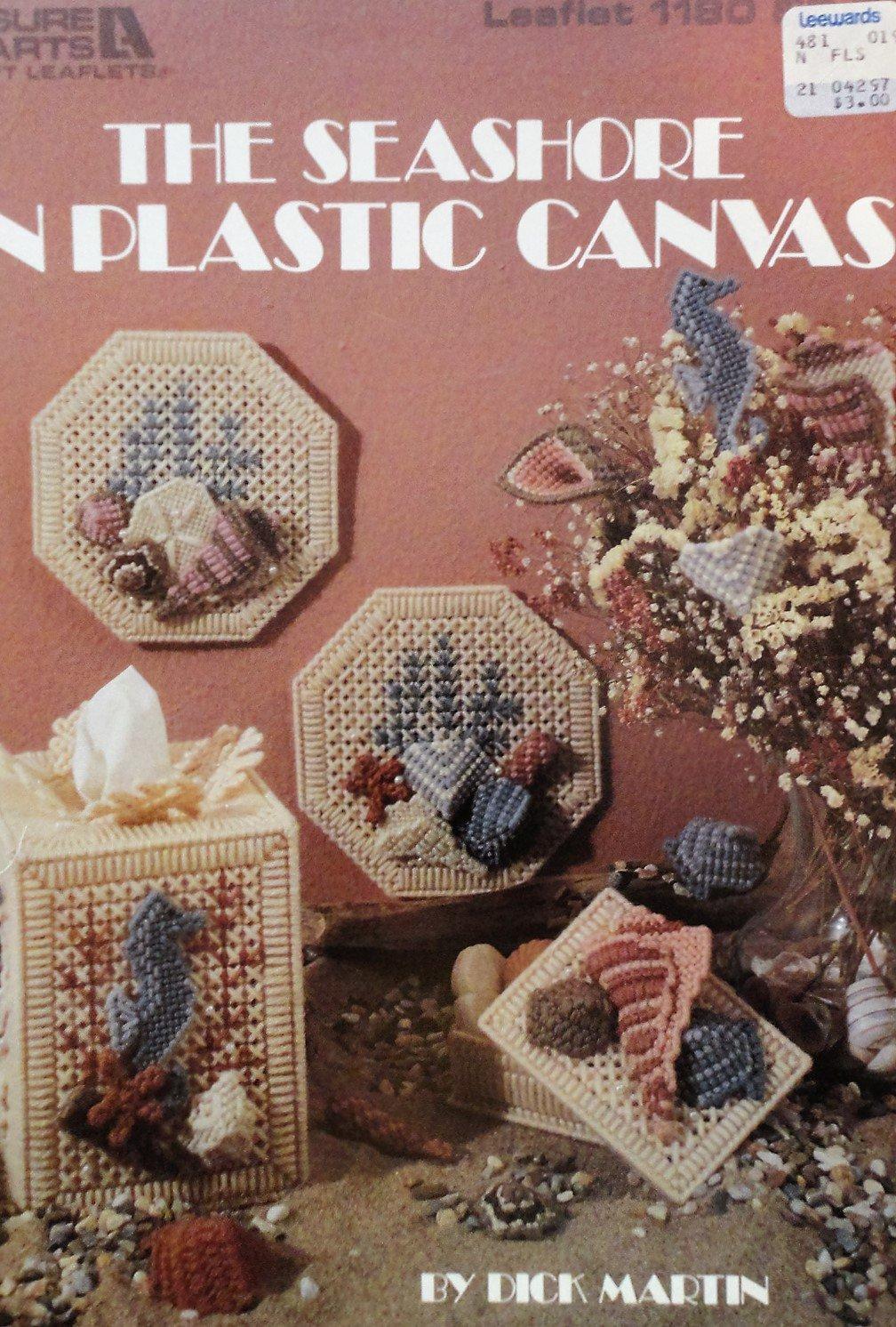 Plastic Canvas Pattern The Seashore  Designed by Dick Martin Leisure Arts 1180