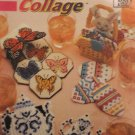 Coaster Collage Plastic Canvas Pattern Annie's Attic 879108