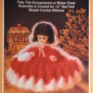 Little Red Riding Hood Pillow Doll Bed Doll  Crochet Pattern  Fibre Craft FCM147