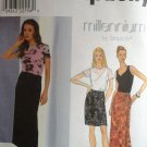 Simplicity 8545 Top Skirt Knit Tank, Size 10-14 sewing pattern