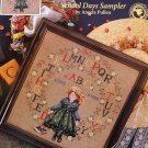 Forget - Me - Nots School Days Sampler Angela Pullen Just Cross Stitch