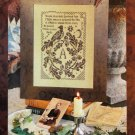 Blackbird Designs Loose Feathers #16 Garland Fair OOP cross stitch pattern
