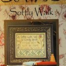 La - D - Da Softly Walk Primitive Sampler Lori Markovic Cross Stitch Chart