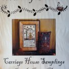 Carriage House Samplings The Dainty Housewren Cross Stitch Chart