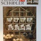The Prairie Schooler No. 121 Bunnies & Chicks Cross stitch chart pattern