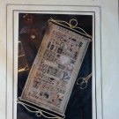 The Drawn Thread Random Thoughts Primitive Sampler Cross Stitch Chart has charms and thread