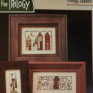 The Trilogy Primitive Sampler cross stitch chart  Trilogy Square