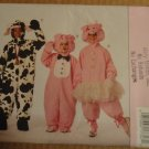 Butterick 3051 Childrens Costume sewing pattern Cow or Pig