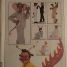 Simplicity 8830 Sewing pattern for costume accessories paws, ears, tails and noses