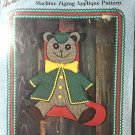 Cubby Bear Aunt Martha's Christmas Stocking Sewing Pattern