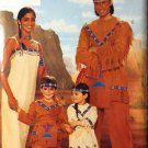 Native American Costume Pattern Butterick 4171