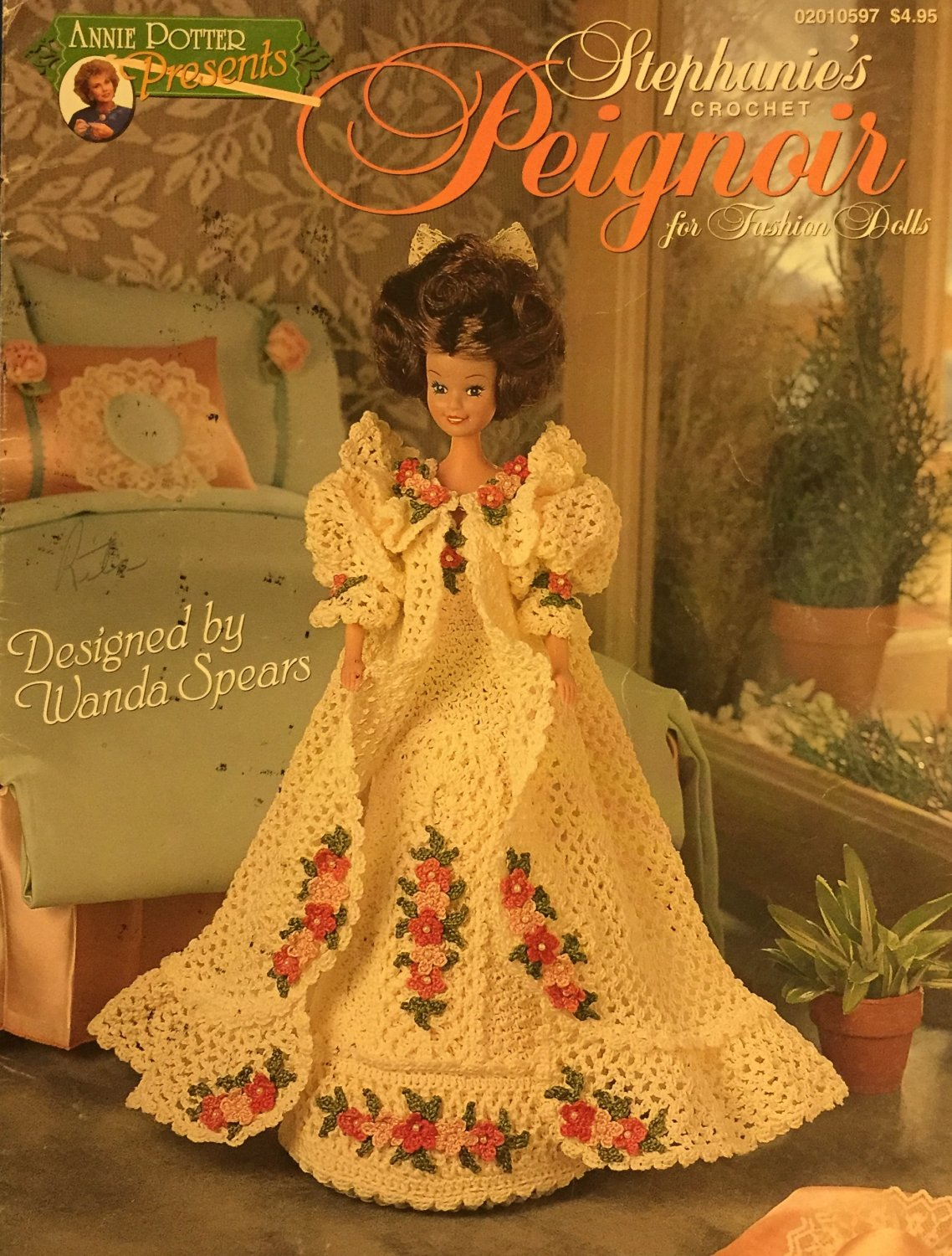 Annie Potter Presents Stephanie's Peignoir for Fashion Dolls Crochet Pattern