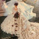 Annie Potter Presents Fashion Doll Bridal Majesty Crochet Pattern