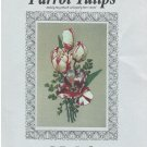 Parrot Tulips Cross Stitch chart The Silver Lining SL135