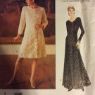Vogue American Designer Oscar De La Renta  Dress Uncut Sewing Pattern  Size 12 14 16