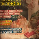 Magic Crochet Pattern Magazine Number 55 August 1988 Gloves, Doilies, lace collar