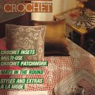 Magic Crochet Pattern Magazine Number 52 February 1988 Doilies, Granny Square Bedspread