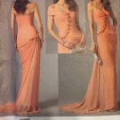 Bellville Sassoon Vogue 2890 Sewing Pattern Evening Gown and Detachable Shrug size 14 16 18