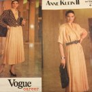 Vogue 2524 Sewing Pattern Anne Klein Career Separated Blouse, Skirt, Jacket size 6 8 10