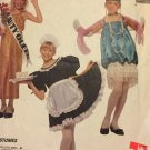 McCall's 4462 child costumes;  bride princess maid flapper beauty queen ballerina  Size 2-4