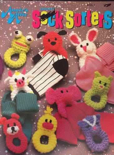 Annie's Attic  Sock Sorters   87S92  crochet pattern Sorts your children's socks