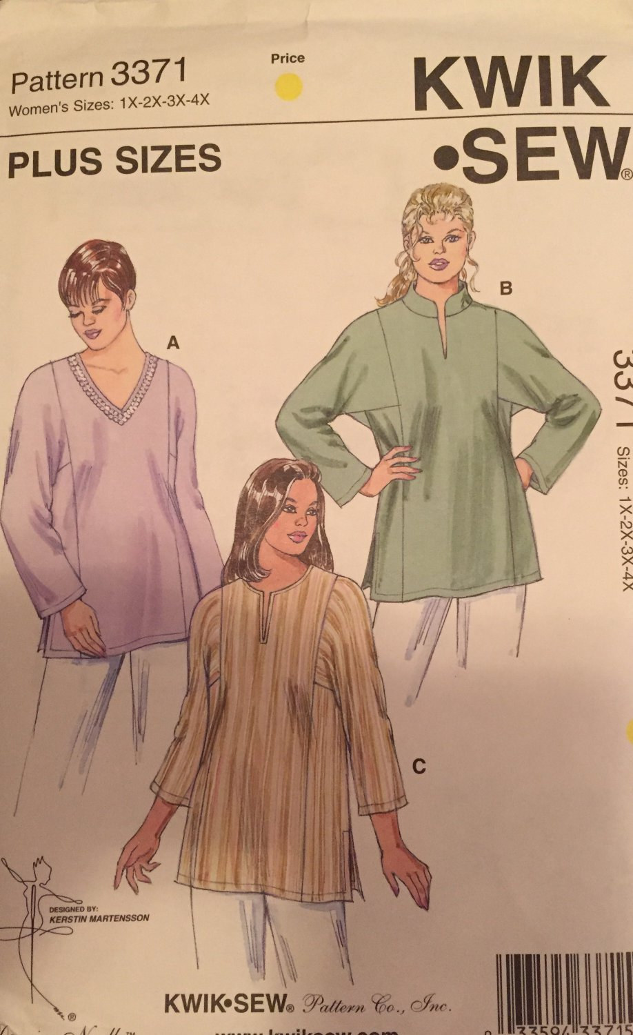 Vogue Patterns V8496 Misses' Petite Shirt, Size sizes 18 20 22 24 SOLD OUT!