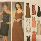 Simplicity Sewing Pattern 5244 Off the shoulder dress or gown spaghetti strap gown Size 12 - 18