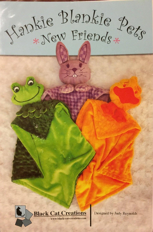Hankie  Blankie Pets child's Lovey Doll sewing pattern